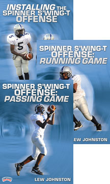 Spinner S'Wing-T Offense 3-pack